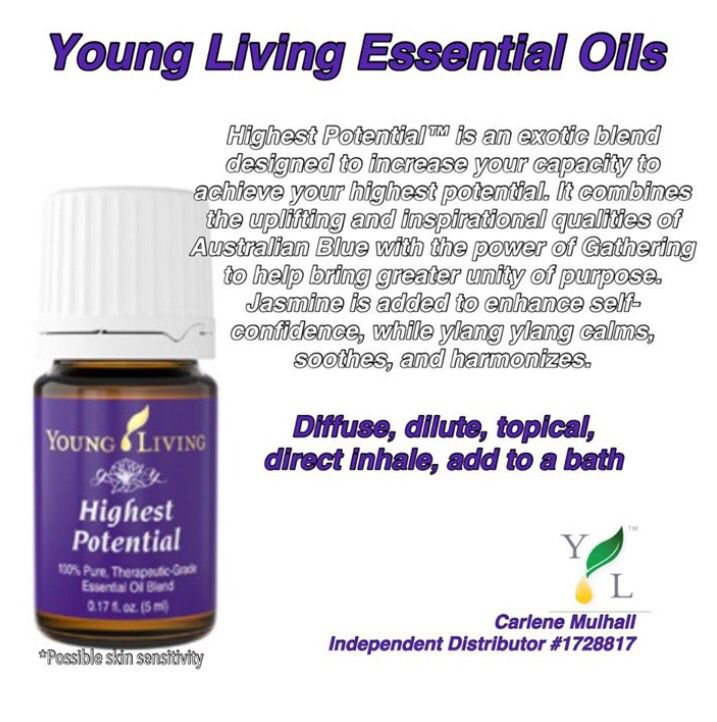 Young Living Highest Potential www facebook com