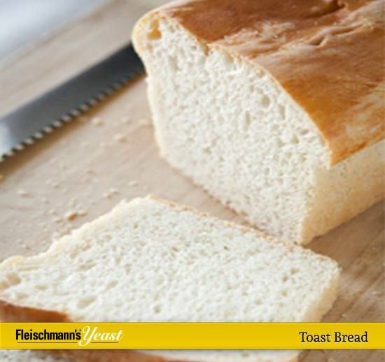 how to make toast bread at home