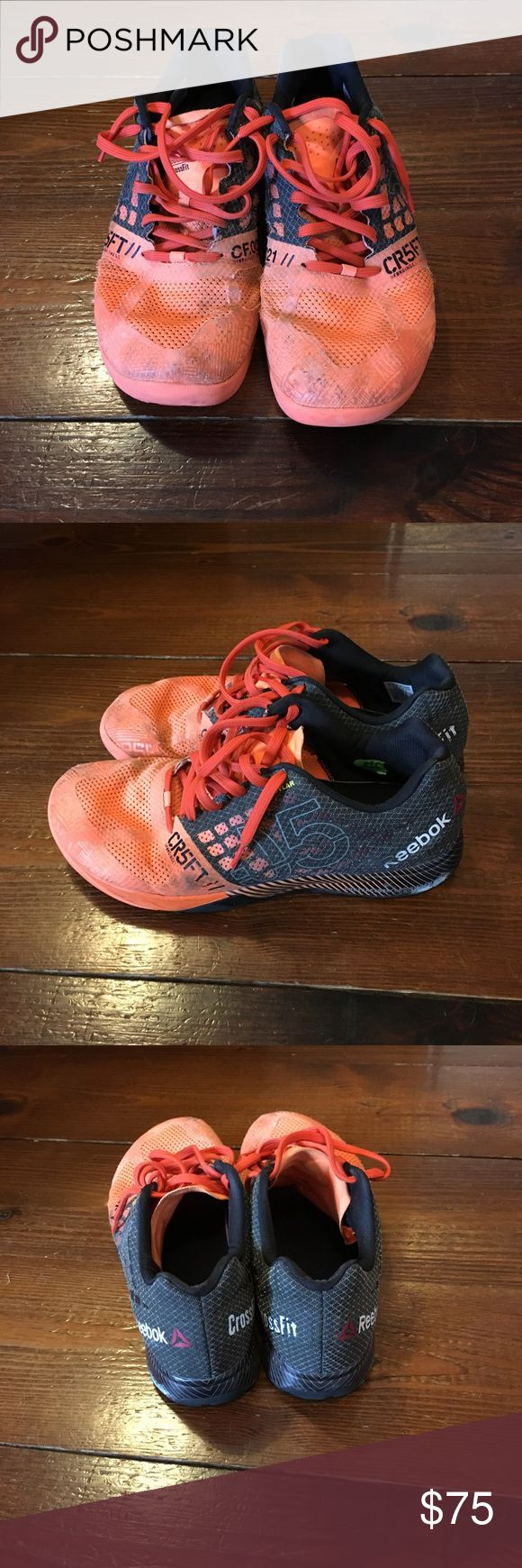 Reebok Nano 5.0 2015 Crossfit Games Edition 2015 Reebok Crossfit Games Edition Nano 5.0. Bought at the crossfit games in Carson CA. Midly warn. Orange and black Reebok Shoes Athletic Shoes