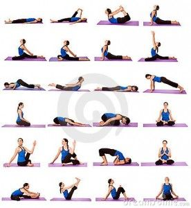 Yoga poses-fairly simple series #yoga #yoga poses #yogaflow #asana