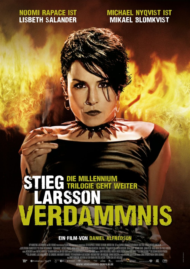 Verdammnis: Perdition (The Girl Who Played with Fire), Stieg Larsson.