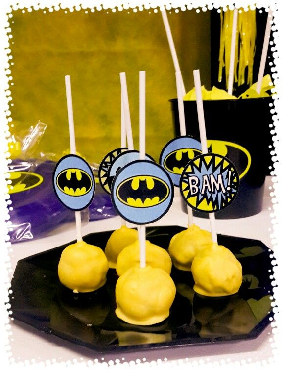 Pop cakes batman
