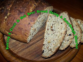 A Pretty Talent Blog: Bake A Fruit & Seed Beer Bread Using A Sourdough Starter