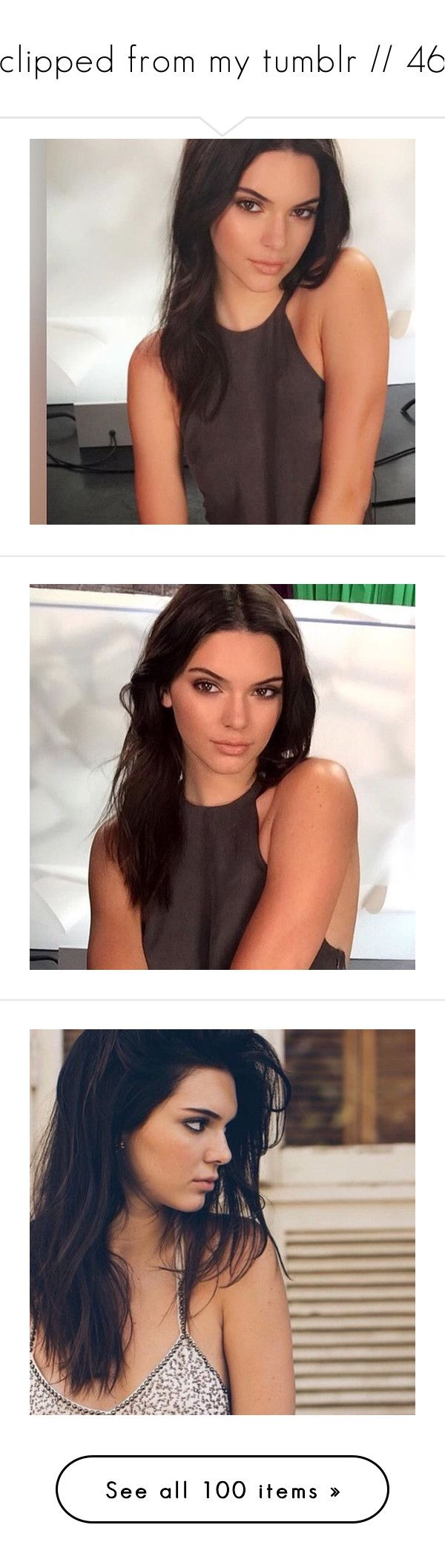 """clipped from my tumblr // 46"" by cupcakes-are-cool ❤ liked on Polyvore featuring kendall jenner, girls, kendall, harry styles, couples, backgrounds, people, them, pictures and black and white"