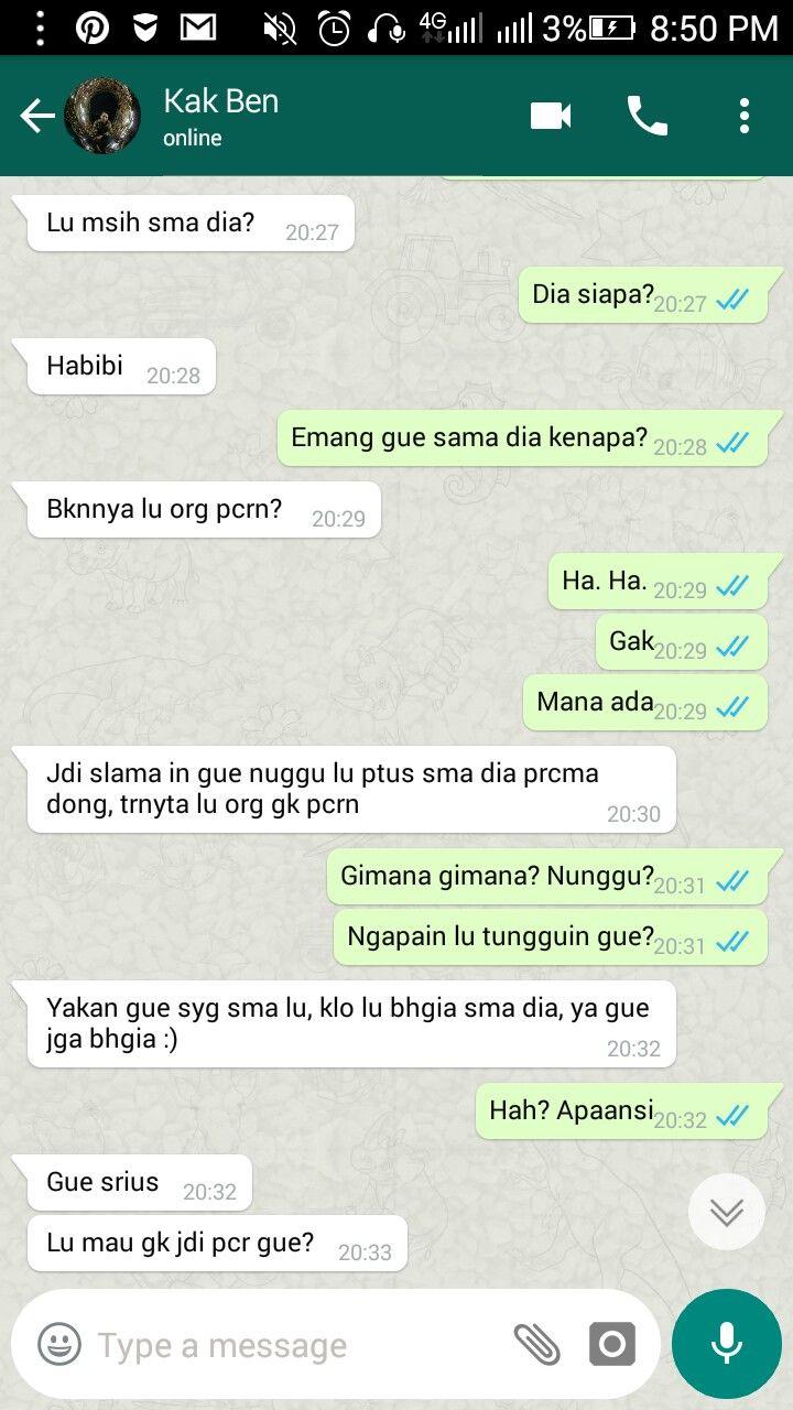 Deg Dong Gue Di 2020 Teks Romantis Romantis Teks