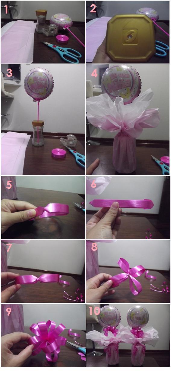 tutorial para centro de mesa baby shower f cil r pido y aprendemos