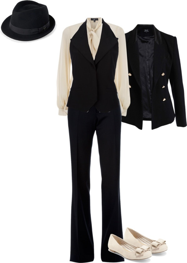 """""""1930s Gangster Style"""" by madiray on Polyvore"""