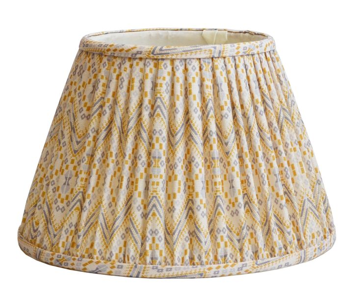 Empire Lampshades from the A Rum Fellow Lampshade Collection, exclusive to Copper & Silk.
