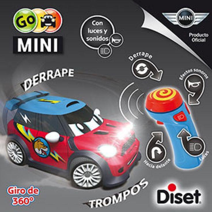 Juguete GO MINI BULLDOG RADIO CONTROL de Diset Precio 35,17€ en IguMagazine #juguetesbaratos