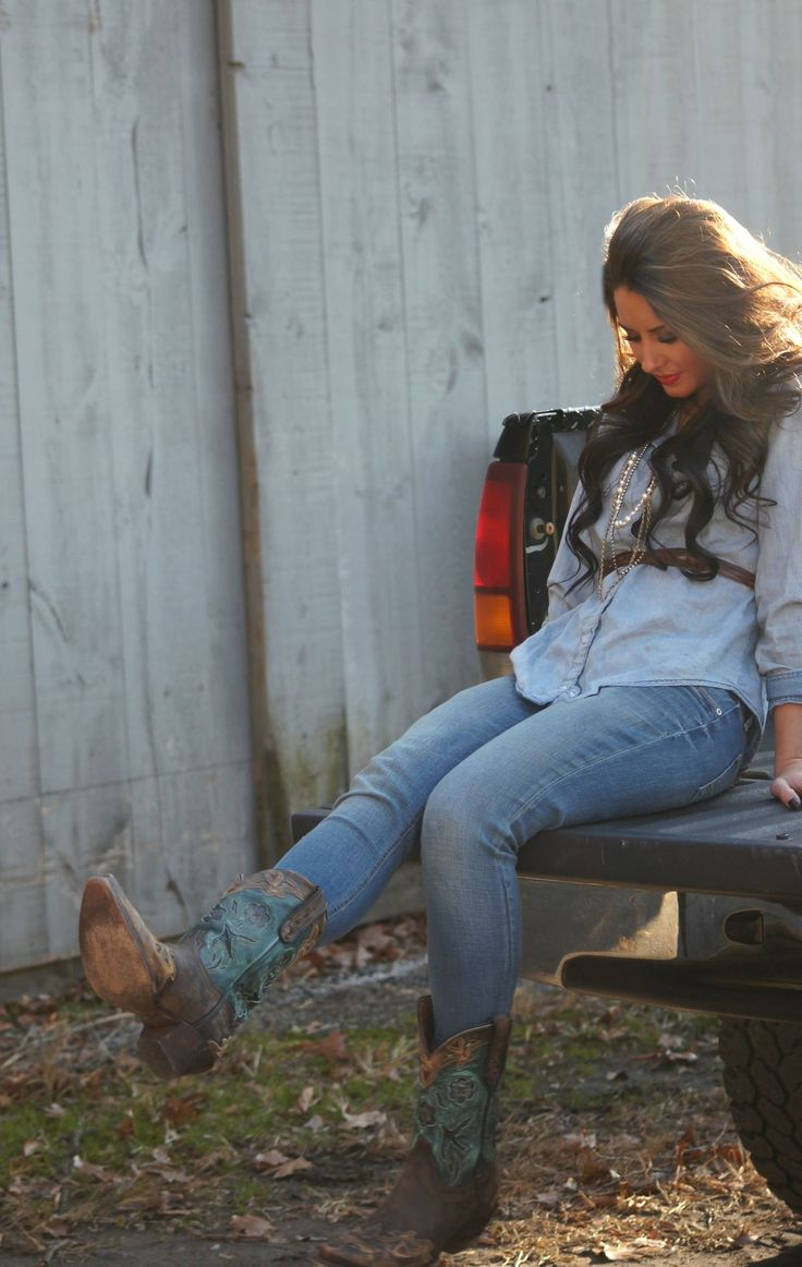 Fashion & Farm Country magazine fall style boots by Dan Post