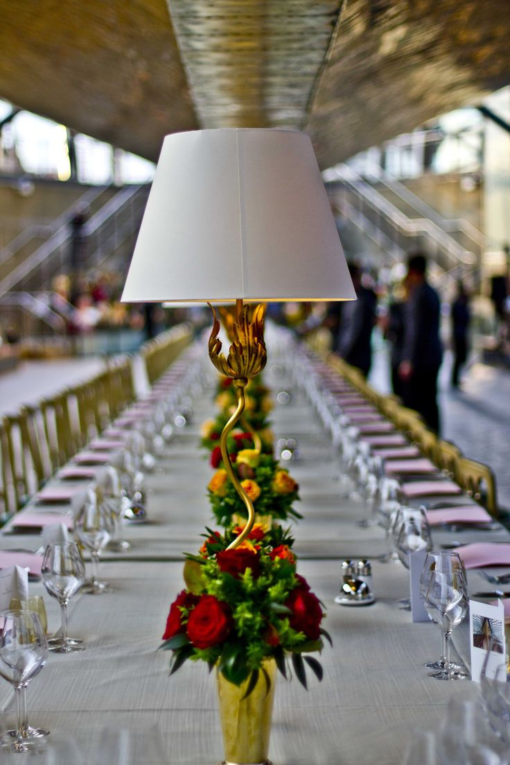 The Portabello Table Lamp at the Cutty Sark event attended by HRH Prince Philip