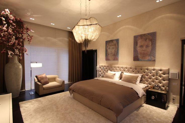Hoofdbord Vienna, bed Hilton, nachtkastje Los Angeles