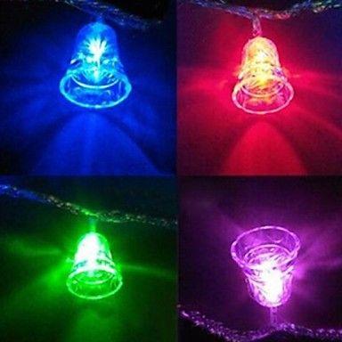Kerst klokken 4.5m 28 geleid kleurrijke lichtslingers – EUR € 8.59