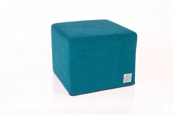 Poofa Premium  Turquoise  pouf with exchangeable by ProjektPoofa