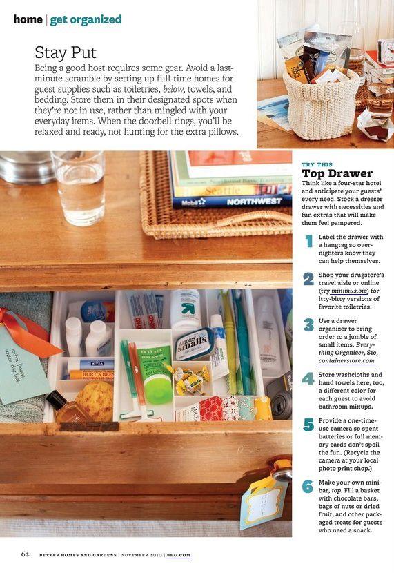 Best Home Design Treasures Guest Room Images On Pinterest - Travel bag for bathroom items for bathroom decor ideas