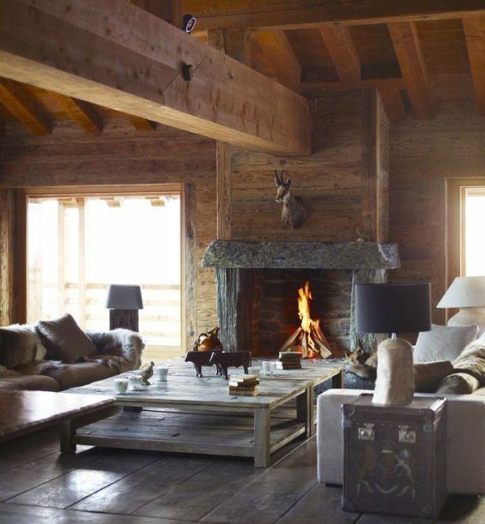 Les 25 meilleures id es concernant chemin es rustiques sur pinterest manteau rustique - Decosalon cheminee ...