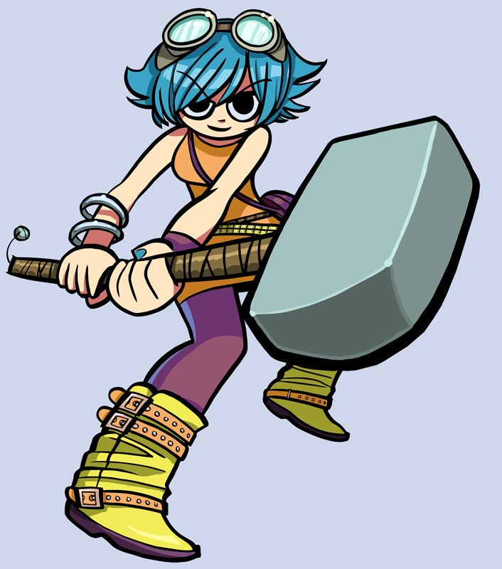 pilgrim ramona colours by zubbydeviantartcom on deviantart scott pilgrim comicgirl - Scott Pilgrim Books In Color