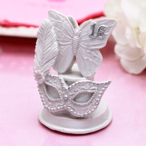 Masquerade mask sweet 16 favors kristalina 39 s sweet 16 for Wholesale quinceanera craft supplies