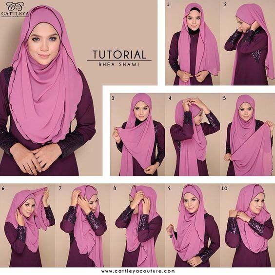 Tutoriels Hijab Modernes3