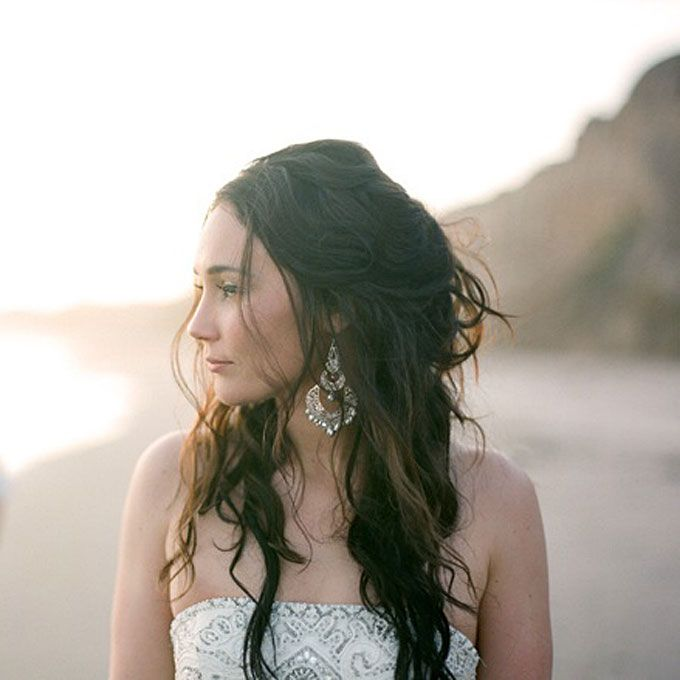 Beach Wavy Wedding Hairstyles: 14 Wedding Hairstyles For Curly Hair