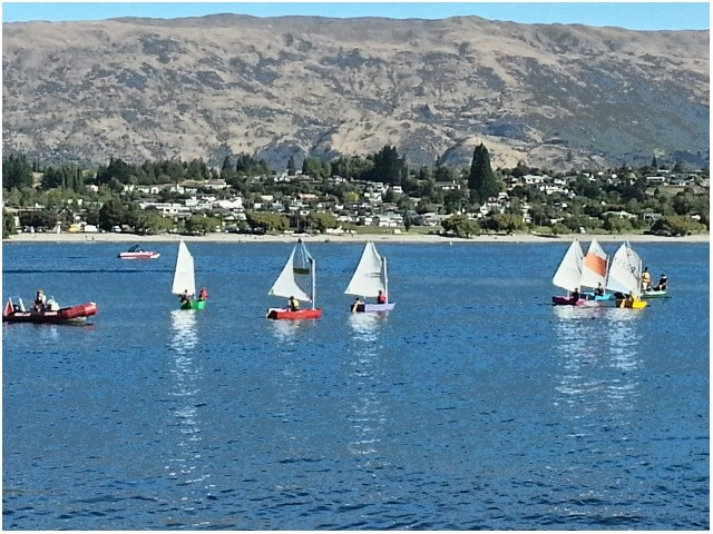 After school yachting in Wanaka