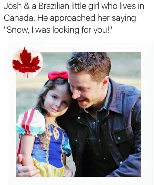 Josh Dallas is so sweet