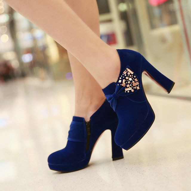 >> Click to Buy << free shipping ankle shoes women lady fashion sexy short boot high heel shoes women's Wedding Shoes txt-11 #Affiliate