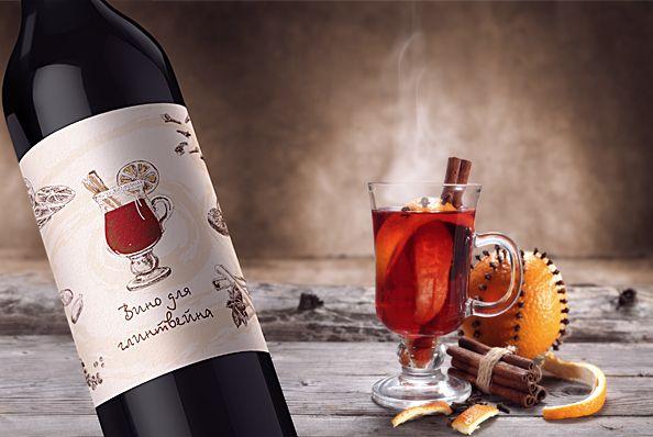 Design labels for wine bottles |  Дизайн этикетки для бутылки вина