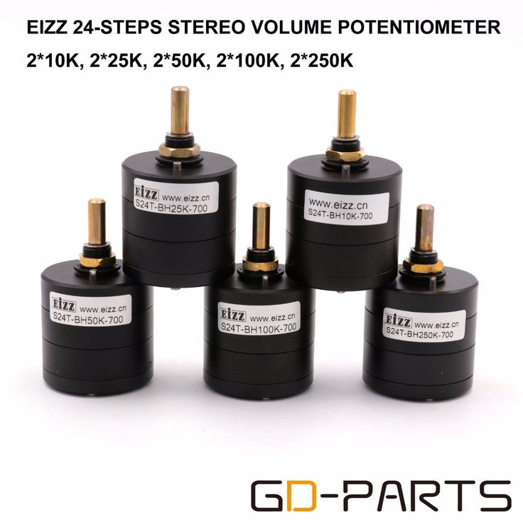 ==> [Free Shipping] Buy Best 1PC EIZZ 24 Step Stereo Attenuator Volume Potentiometer For Hifi Audio Vintage Amplifier Radio CD Player LOG 25K 50K 100K Online with LOWEST Price   32813315030