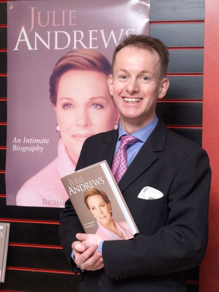 Richard Stirling during Julie Andrews Book Launch of Richard Stirling's Biography March 6 2007 at Dress Circle Theatre Shop in London Great Britain