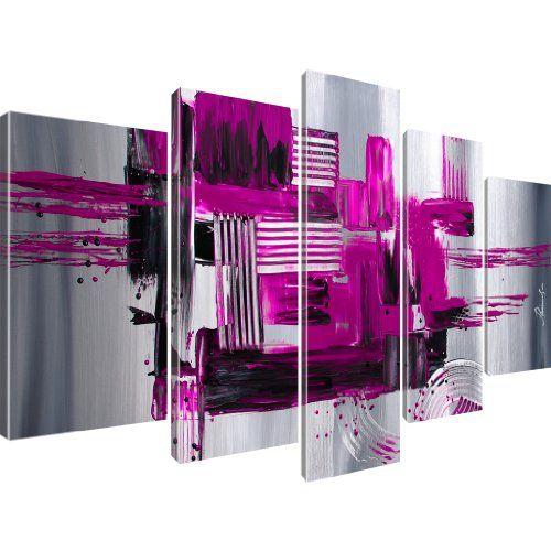 kunstdruck abstraktion stadt wandbild auf leinwand 5. Black Bedroom Furniture Sets. Home Design Ideas