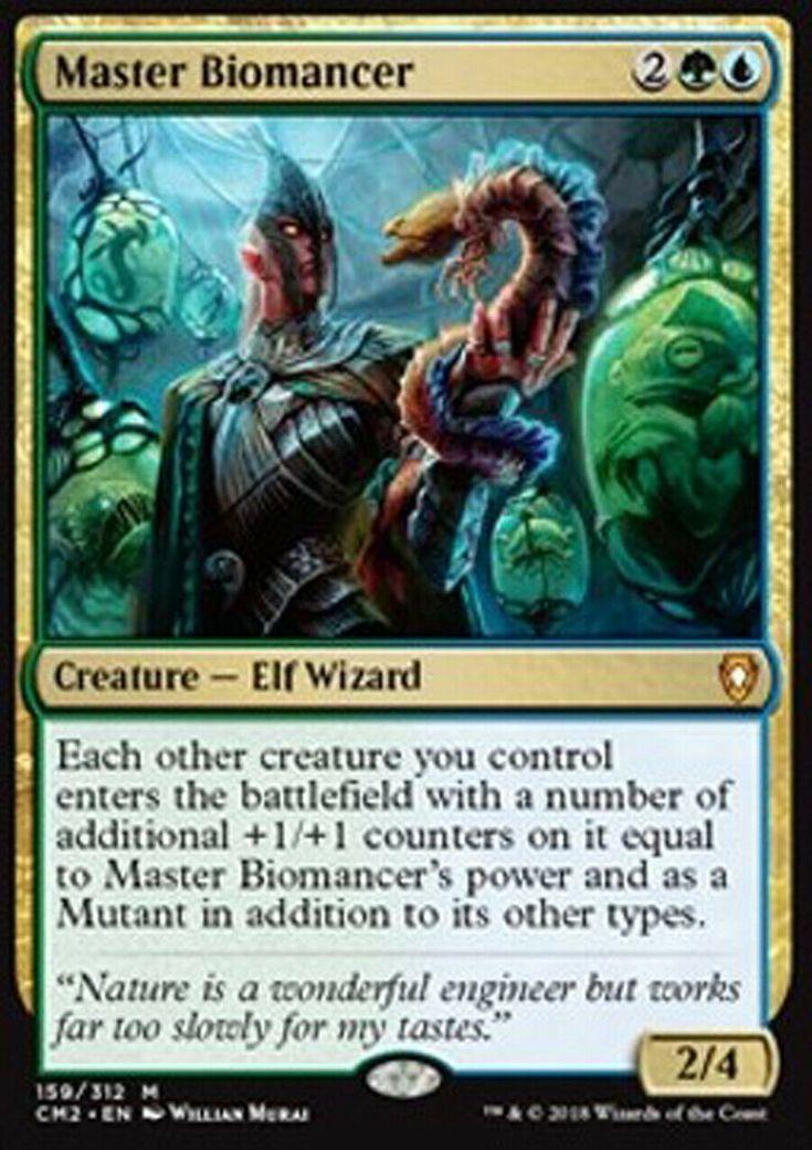 Details about mtg blue green simic commander edh deck