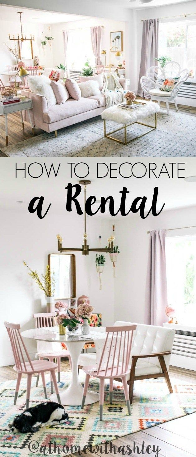 How To Decorate A Rental With Images Rental Home Decor Rental