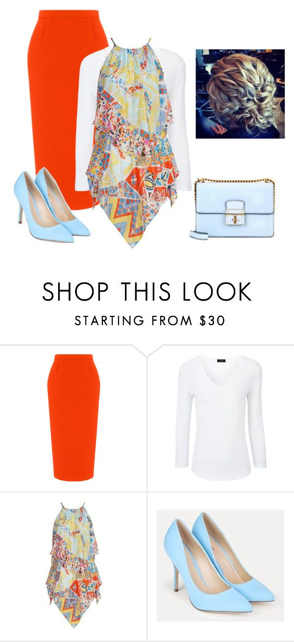 """""""Sunday's Church Outfit"""" by jvs8384 ❤ liked on Polyvore featuring Roland Mouret, Joseph, Emilio Pucci and JustFab"""