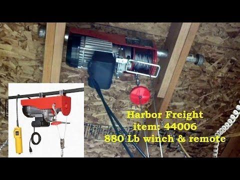 Best Attic Lift Home Made Youtube Attic Lift Diy Remodel Bedroom Attic Lift 640 x 480