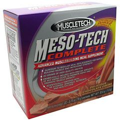 Advanced Muscle building Meal Supplement. - http://www.topchoicesupplements.com/collections/muscle-builders/products/muscletech-meso-tech-complete-meal-supplement-20-pack