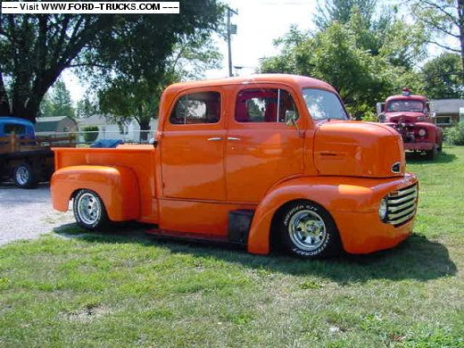 1948 Ford Coe Crew Cab Truck
