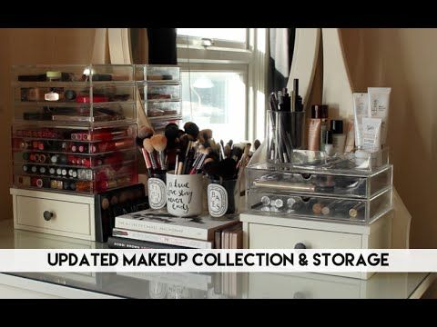 My Updated Makeup Collection & Storage // Lily Pebbles