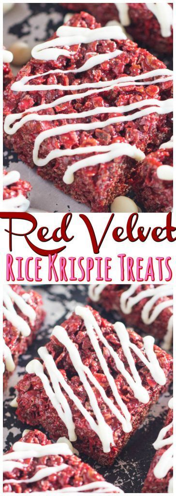 These Red Velvet Rice Krispie Treats are as effortless as classic Rice Krispie Treats, but extraordinarily more memorable!