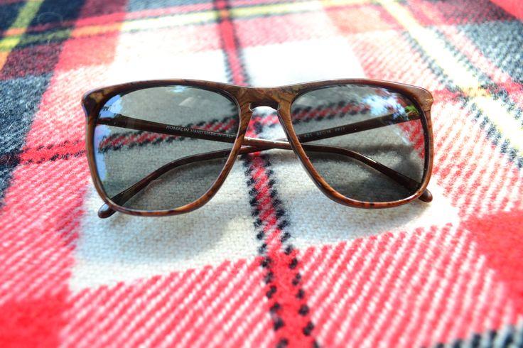 Original Vintage on chequered pattern