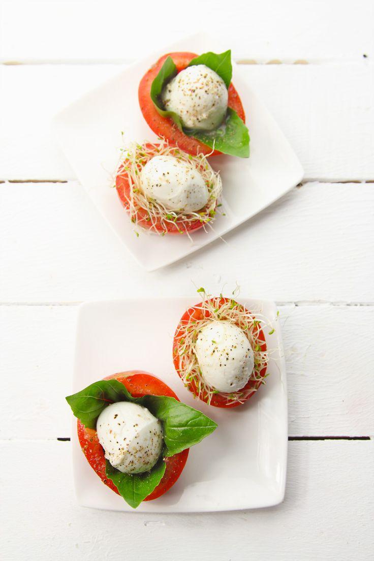 Un soltero en la cocina: Nidos de Mozzarella