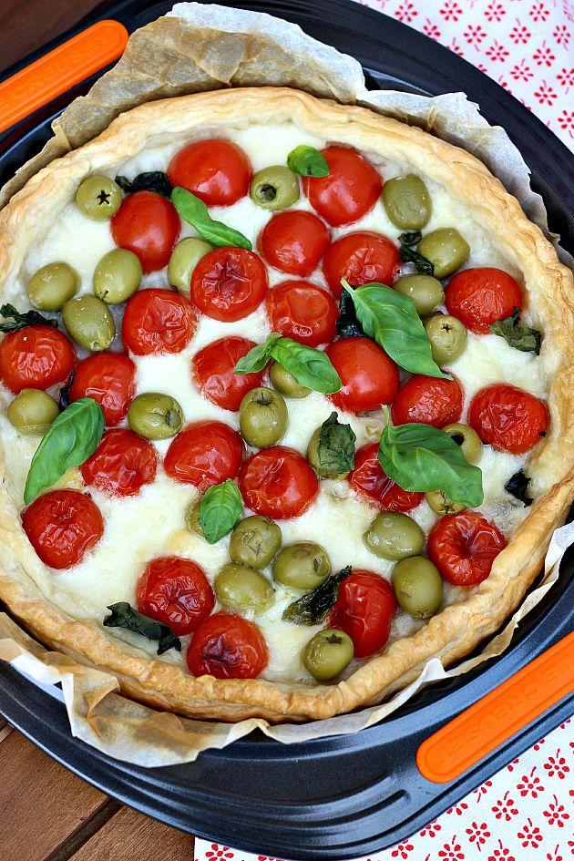 ChiarapassionSfogliata napoletana con pomodorini e mozzarellaby Chiarapassion