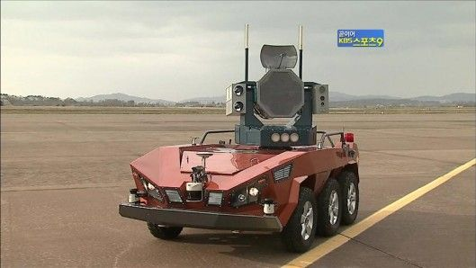 South Korea has developed what it is calling the world's first bird strike defense robot.