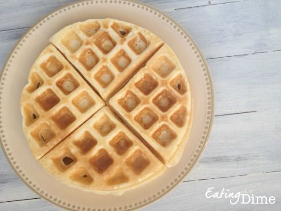 The BEST Homemade Pancake and Waffle Mix - Eating on a Dime