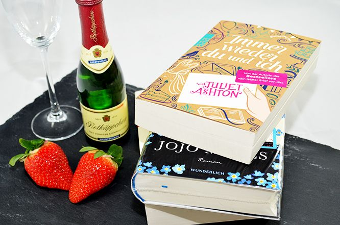 """Allein am #Valentinstag? Holt euch eure Dosis #Romantik mit diesen #Romanen (und einem Gläschen #Rotkäppchen #Sekt): """"Immer wieder du und ich"""" (12,99€) von #Juliet #Ashton oder """"Ein ganz neues Leben"""" (19,95€) und """"Ein ganzes halbes Jahr"""" von #Jojo #Moyes gibt es bei #Thalia im #AlleeCenterMagdeburg! #MagMag #Magdeburg #Liebe #Valentin #Bücher"""