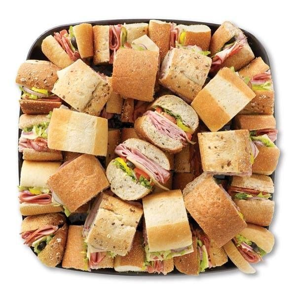 Mini Subs Party Platter For Less Than 10 Plus A Bunch Of Platters Super Easy To Make
