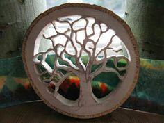 tree silhouette scrollsaw - Recherche Google
