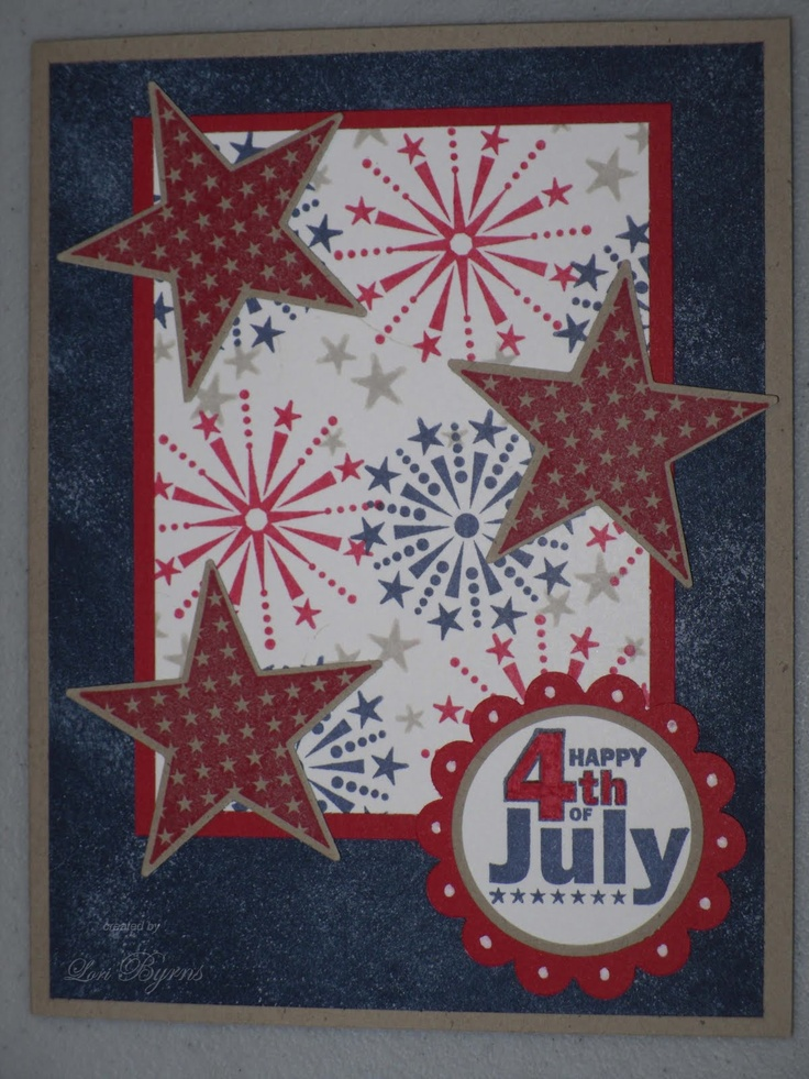 4th of july cards on pinterest
