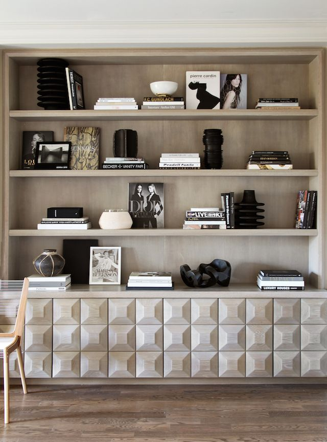 T.D.C   Bookshelf styling by Bespoke Interior Design, NYC