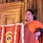QUALITY SCHOOLING IS WHAT NATIONS ARE BUILT ON – Chief Minister, Vasundhara Raje